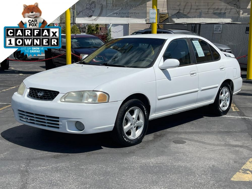 2002 Cloud White /Gray Cloth Nissan Sentra GXE (3N1CB51D72L) with an 1.8L 4 Cyl. engine, Manual transmission, located at 801 South State Street, Salt Lake City, UT, 84111, (801) 328-0098, 40.751953, -111.888206 - Photo #0
