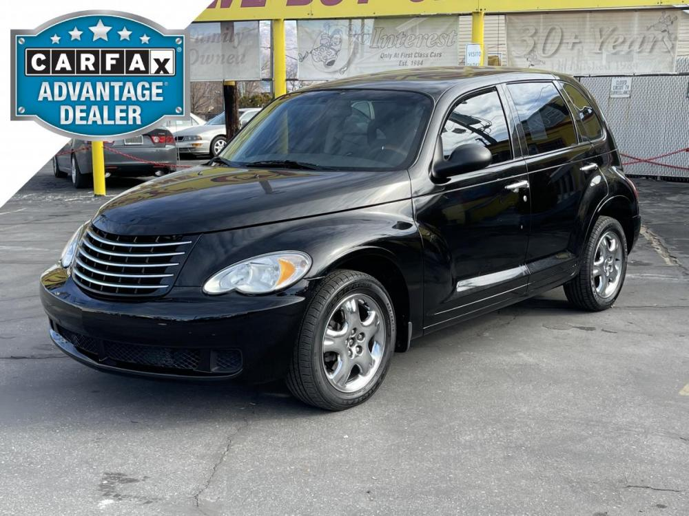 2007 Black /Gray Cloth Chrysler PT Cruiser (3A4FY48B07T) with an 2.4L I4 engine, Automatic transmission, located at 801 South State Street, Salt Lake City, UT, 84111, (801) 328-0098, 40.751953, -111.888206 - Photo #0