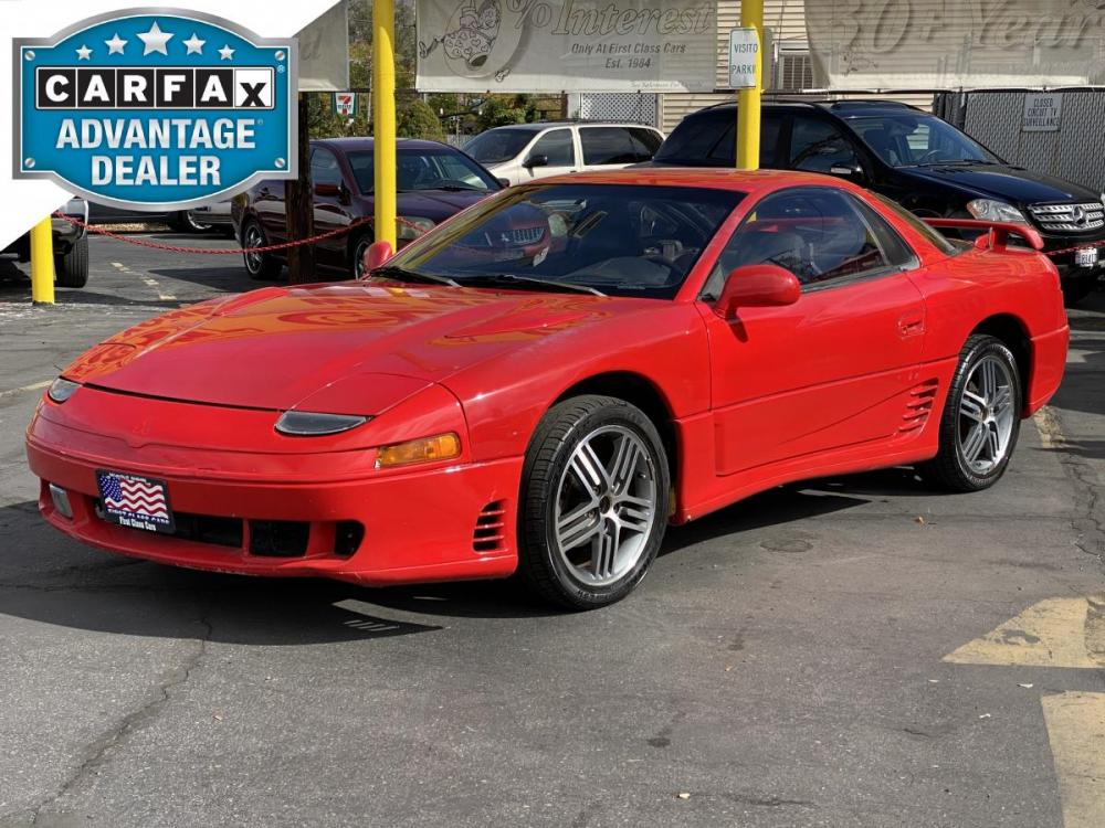1992 Monza Red /Black Leather Mitsubishi 3000GT SL (JA3XD64BXNY) with an 3.0L V6 engine, Automatic transmission, located at 801 South State Street, Salt Lake City, UT, 84111, (801) 328-0098, 40.751953, -111.888206 - Photo #0