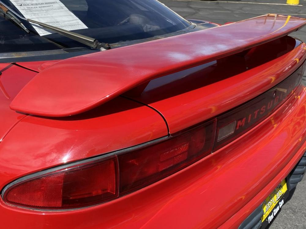 1992 Monza Red /Black Leather Mitsubishi 3000GT SL (JA3XD64BXNY) with an 3.0L V6 engine, Automatic transmission, located at 801 South State Street, Salt Lake City, UT, 84111, (801) 328-0098, 40.751953, -111.888206 - Photo #9