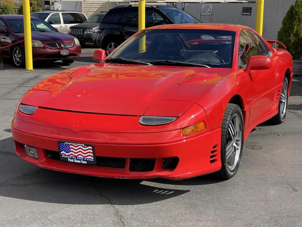 1992 Monza Red /Black Leather Mitsubishi 3000GT SL (JA3XD64BXNY) with an 3.0L V6 engine, Automatic transmission, located at 801 South State Street, Salt Lake City, UT, 84111, (801) 328-0098, 40.751953, -111.888206 - Photo #2