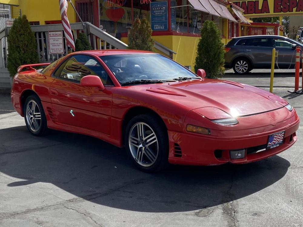 1992 Monza Red /Black Leather Mitsubishi 3000GT SL (JA3XD64BXNY) with an 3.0L V6 engine, Automatic transmission, located at 801 South State Street, Salt Lake City, UT, 84111, (801) 328-0098, 40.751953, -111.888206 - Photo #4