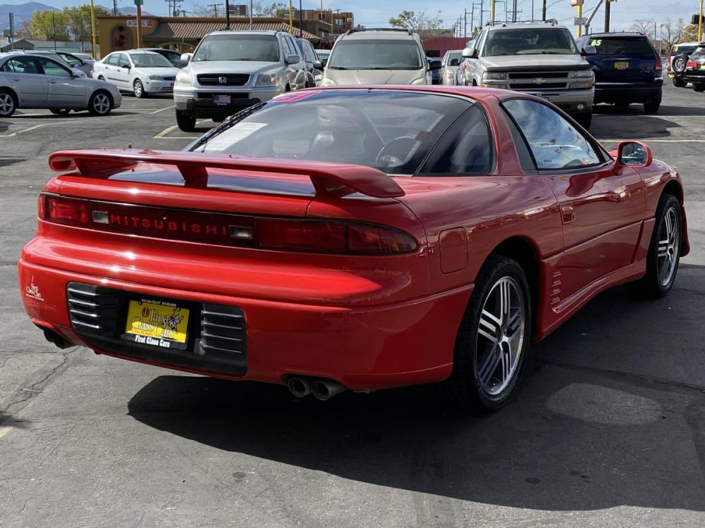 1992 Monza Red /Black Leather Mitsubishi 3000GT SL (JA3XD64BXNY) with an 3.0L V6 engine, Automatic transmission, located at 801 South State Street, Salt Lake City, UT, 84111, (801) 328-0098, 40.751953, -111.888206 - Photo #6