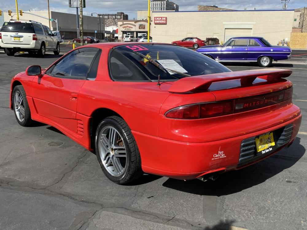 1992 Monza Red /Black Leather Mitsubishi 3000GT SL (JA3XD64BXNY) with an 3.0L V6 engine, Automatic transmission, located at 801 South State Street, Salt Lake City, UT, 84111, (801) 328-0098, 40.751953, -111.888206 - Photo #8