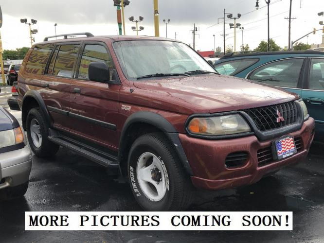 2001 Mitsubishi Montero Sport LS 4WD #034378 *MECHANIC SPECIAL! AS-IS!*