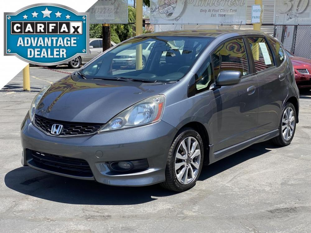 2012 Polished Metal Metallic /Gray Cloth Honda Fit Sport (JHMGE8H53CC) with an 1.5L I4 engine, Automatic transmission, located at 801 South State Street, Salt Lake City, UT, 84111, (801) 328-0098, 40.751953, -111.888206 - Photo #0
