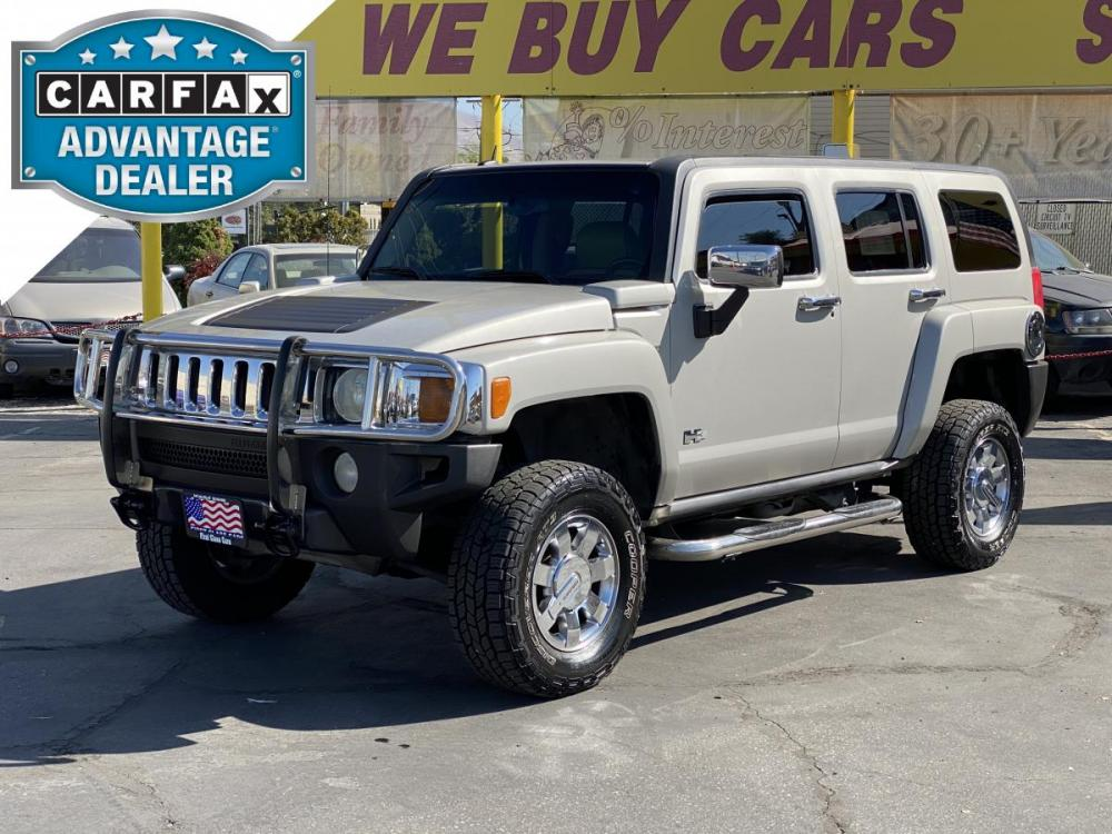 2007 Silver Birch Metallic /Tan Leather HUMMER H3 X (5GTDN13E578) with an 3.7L I5 engine, Automatic transmission, located at 801 South State Street, Salt Lake City, UT, 84111, (801) 328-0098, 40.751953, -111.888206 - Photo #0