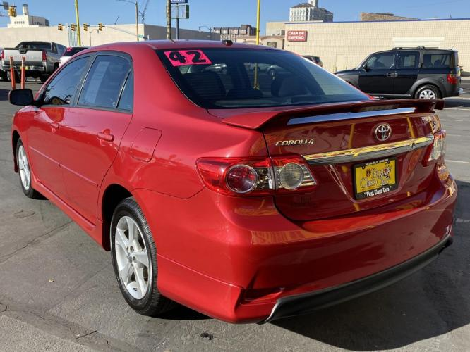 2011 Barcelona Red Mica /Gray Cloth Toyota Corolla S (2T1BU4EE5BC) with an 1.8L I4 engine, Automatic transmission, located at 801 South State Street, Salt Lake City, UT, 84111, (801) 328-0098, 40.751953, -111.888206 - Photo #9
