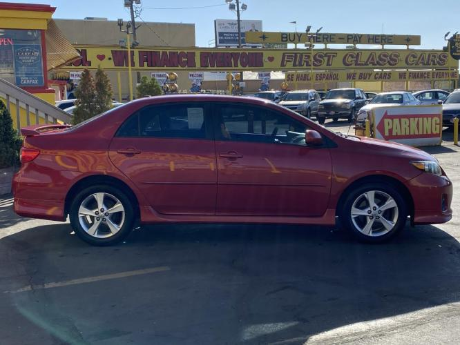 2011 Barcelona Red Mica /Gray Cloth Toyota Corolla S (2T1BU4EE5BC) with an 1.8L I4 engine, Automatic transmission, located at 801 South State Street, Salt Lake City, UT, 84111, (801) 328-0098, 40.751953, -111.888206 - Photo #6