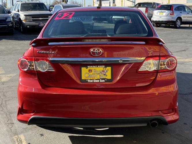 2011 Barcelona Red Mica /Gray Cloth Toyota Corolla S (2T1BU4EE5BC) with an 1.8L I4 engine, Automatic transmission, located at 801 South State Street, Salt Lake City, UT, 84111, (801) 328-0098, 40.751953, -111.888206 - Photo #8