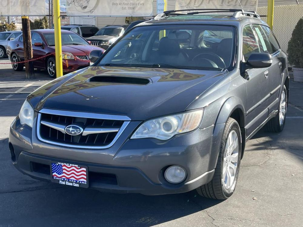 2008 Metallic Gray Metallic /Black Leather Subaru Outback 2.5XT Limited (4S4BP63C184) with an 2.5L H4 Turbo engine, Automatic transmission, located at 801 South State Street, Salt Lake City, UT, 84111, (801) 328-0098, 40.751953, -111.888206 - Photo #3