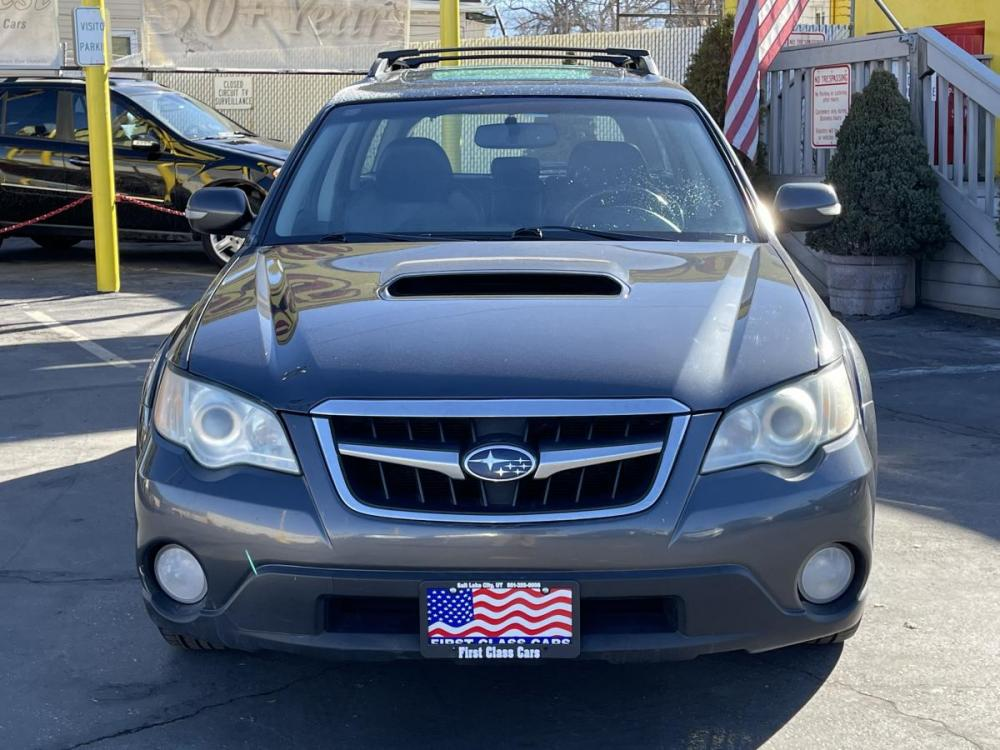 2008 Metallic Gray Metallic /Black Leather Subaru Outback 2.5XT Limited (4S4BP63C184) with an 2.5L H4 Turbo engine, Automatic transmission, located at 801 South State Street, Salt Lake City, UT, 84111, (801) 328-0098, 40.751953, -111.888206 - Photo #4