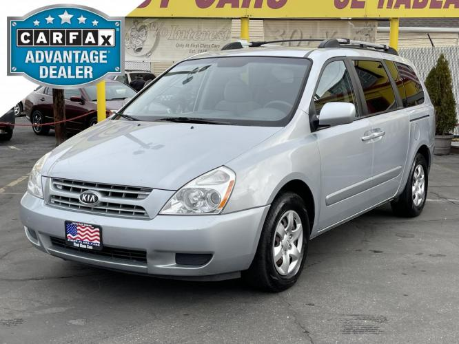 2008 Clear Silver Metallic /Gray Cloth Kia Sedona LX (KNDMB233186) with an 3.8L V6 engine, Automatic transmission, located at 801 South State Street, Salt Lake City, UT, 84111, (801) 328-0098, 40.751953, -111.888206 - Photo #0